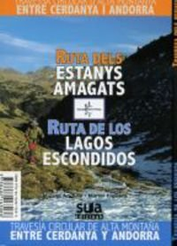 Cover of Ruta dels Estanys Amagats / Ruta de los Lagos Escondidos
